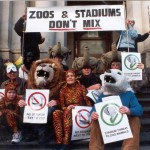 1999 No Stadiums Protest