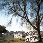 1999 No Stadiums Protest -2