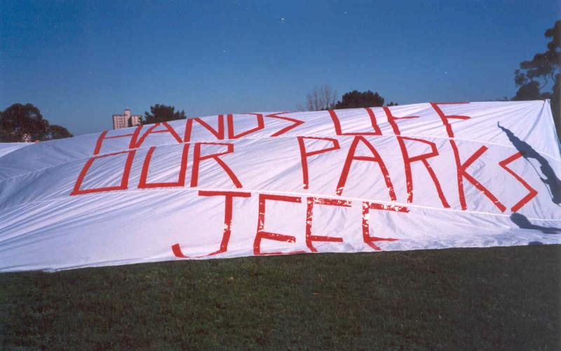 1999 No Stadiums Protest -3