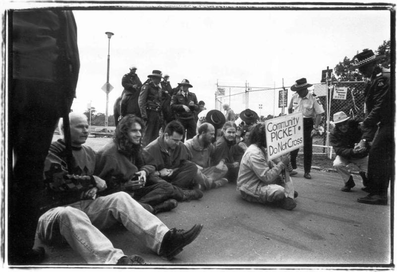 1999 Stadium Blockade
